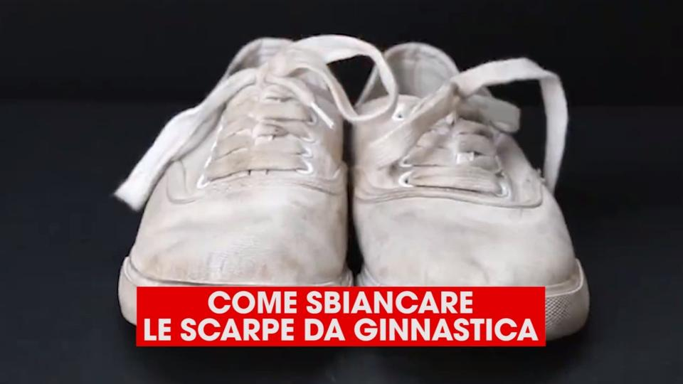 come pulire le air max bianche